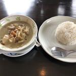 タイ料理ハウス ピサヌローク - グリーンカレーとタイ米