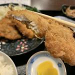海鮮酒房 川 - 料理写真:小あじフライ定食  600円