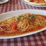 13241597 - 完熟トマトとバジリコのスパゲッティ