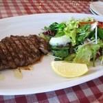 13241598 - オーストラリア産牛ヒレ肉のグリル(120グラム)新鮮サラダ添え