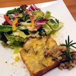 ぐれんびあーれ - 料理写真:サラダ+ケークサレ盛