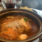 タイガーカレー - 挽肉と納豆カレー