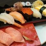 tachiguisakurazushi - ランチ3番1100円