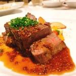 イナロ食堂 - 牛ハラミステーキ