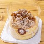 高倉町珈琲 - 冷製マロンクリームリコッタパンケーキテイクアウト限定