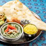 サンガム - 料理写真:カトマンズカレーディナーセット