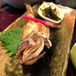 132417723 - 焼き魚はノドグロの稚魚