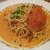 地中海食堂 タベタリーノ - 渡り蟹のトマトクリームスパゲティ