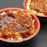 ぎょ魚蔵部 - メカジキのソースかつ丼