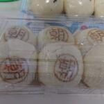 気楽な家 - 料理写真:朝まんじゅう小豆