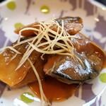 ライブハウス 窓枠カフェ アオゾラ - 鯖の味噌煮(ランチ)