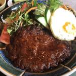 セブン - 料理写真:ハンバーグS定食