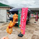 Cafeゼロセカンド0+2 - 料理写真:鶏の塩からあげ串