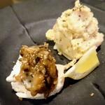 ニクバル 肉MAR.co - お通し ¥300-