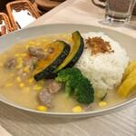 トンテキ食堂8 - クリームシチュー with ライス