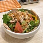 トンテキ食堂8 - チャーシュー肉サラダ