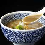 煮干しつけ麺 宮元 - 料理写真:オンリーワンの濃厚スープ!!