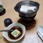 松籟庵 - 湯豆腐