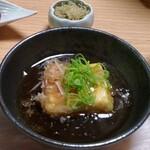 松籟庵 - 揚げ出し豆腐