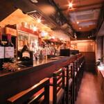 日本酒×炭火バル からんと - 〜10名様までカウンター席