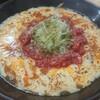 めん太郎 - 料理写真:炙りチーズトマトすぱから麺
