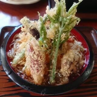 そば処 熊谷 - 料理写真:おろし天そば