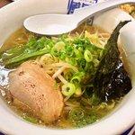 風風ラーメン - 料理写真:セットの塩ラーメン