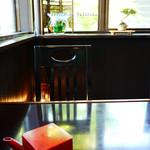 蕎麦処 みかわ - テーブル
