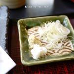 蕎麦処 みかわ - 薬味