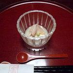 13245128 - 子うるか豆腐・白みる貝山葵