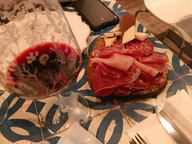パンツェロッテリアの料理の写真