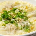 ◆あっさり鶏ガラスープ餃子