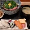 ふじ鮨 - 料理写真:ねぎとろ丼セット