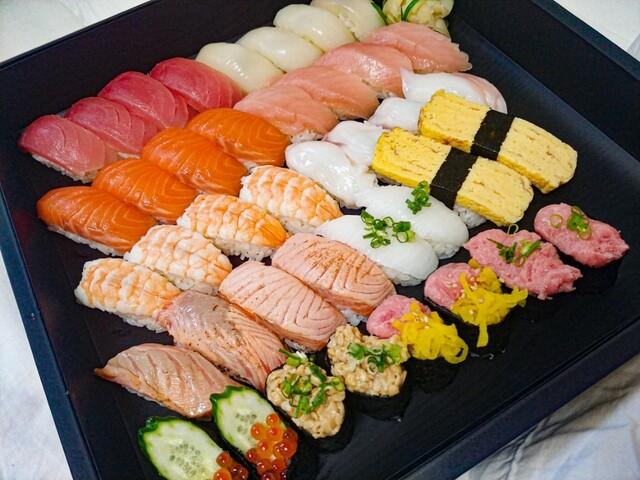 柿家鮨 文京中央店の料理の写真