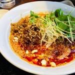 焼きとん 大国 - 王子の坦々麺(辛3・痺3)900円