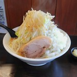 麺家 大須賀 - 料理写真:ともラーメン野菜多め、玉ねぎトッピング