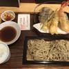 手打ち蕎麦屋 中山邸 晨翁蕎麦 - 料理写真:天せいろ1800円(税別)