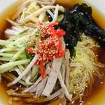 東堀石門子 - 細縮れ麺