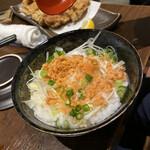 プライベート個室×旬菜居酒屋 魚々ろ - 鮭飯です