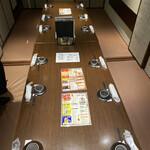 プライベート個室×旬菜居酒屋 魚々ろ - 座敷の様子です