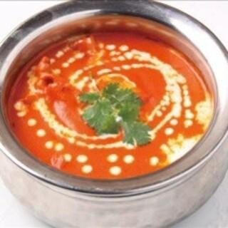 こだわりのスパイスを使用した、本格インド料理をご堪能あれ♪