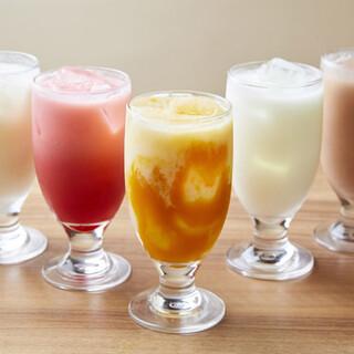 種類豊富なドリンクから、お好みの一杯をお選びください☆