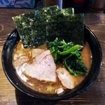 クックら - ラーメン720円麺硬め。海苔増し100円。