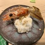 第三春美鮨 - 鬼殻焼き