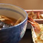 山梨ほうとう 浅間茶屋 - てんぷら