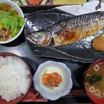 男前料理 虎ノ門 はらから hara-kara - 塩鯖焼き定食