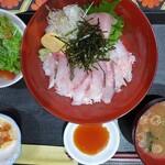 男前料理 虎ノ門 はらから hara-kara - 海鮮丼