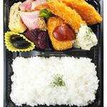 洋食コノヨシ - 【予約弁当】[B-15]お手頃弁当(ミックスフライ)