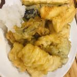 海鮮屋台おくまん - 天ぷら各種