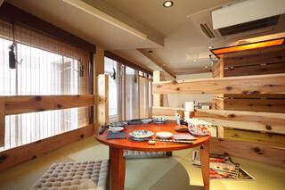 ★北海道物産 東京立川 - 【ロフトちゃぶ台席】4名様まで 家庭感覚でお楽しみ頂けます。